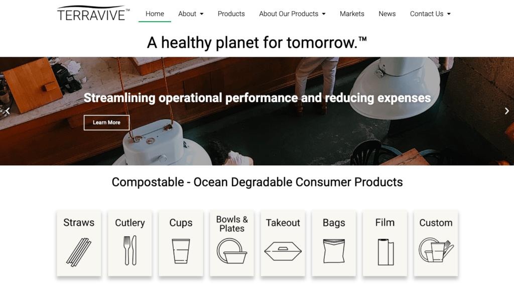 Terravive's website